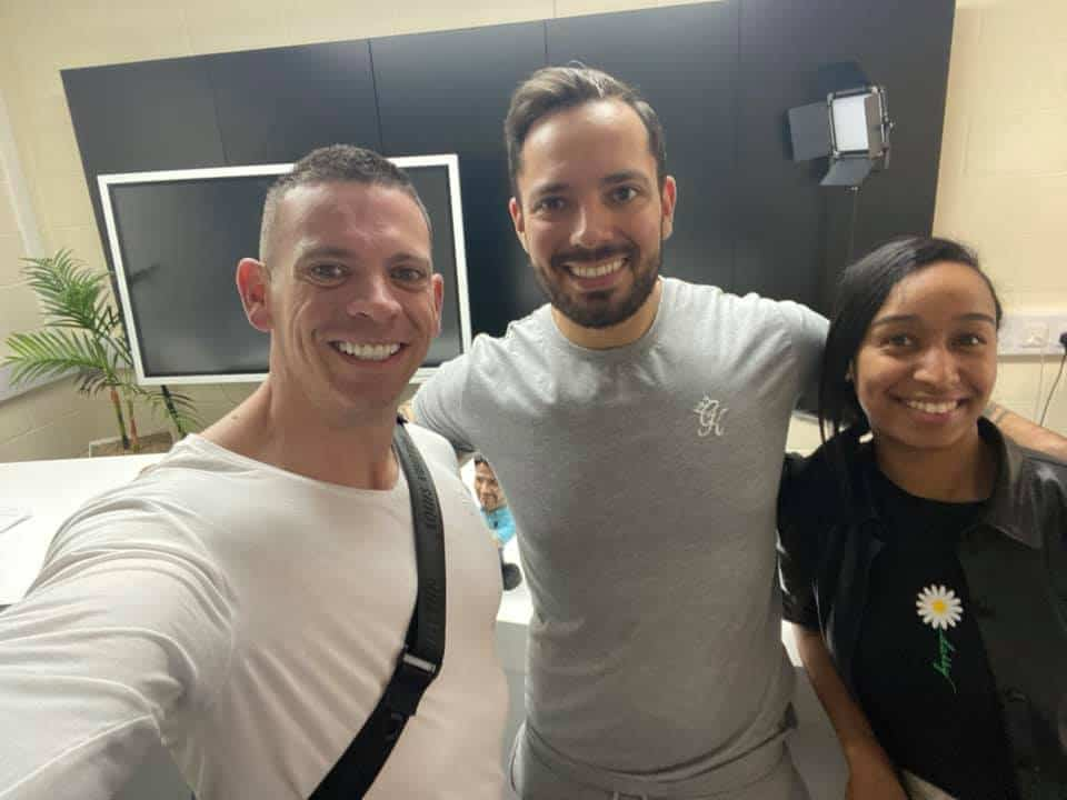 Hadjer with Liam J Ryan and Nick Staab